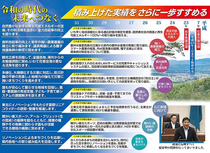 名須川晋岩手県議会議員ポスター2